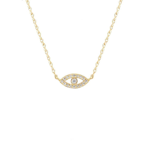 Third Eye Pave Necklace