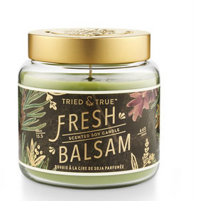 Tried & True Fresh Balsam Large Jar Candle