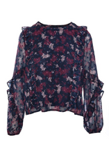 Load image into Gallery viewer, Twilight Ruffle Blouse