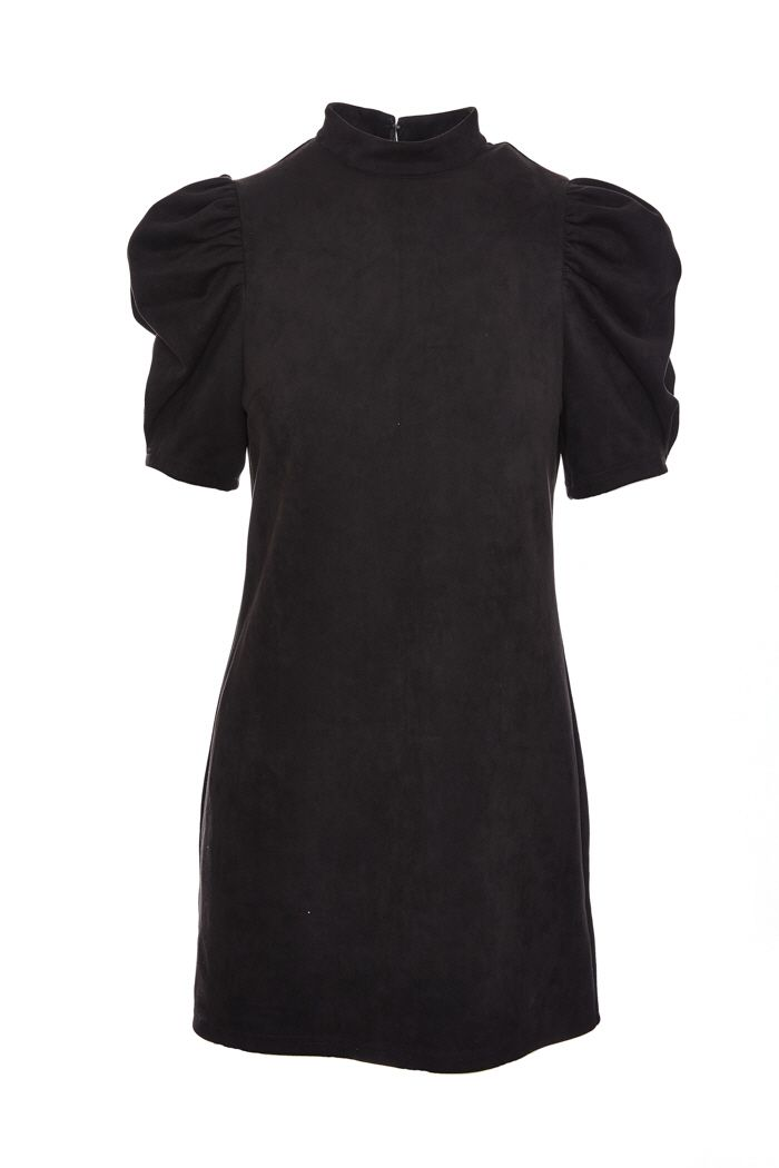 Under the Stars Suede Dress