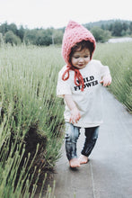 Load image into Gallery viewer, Wild Flower Kids Tee