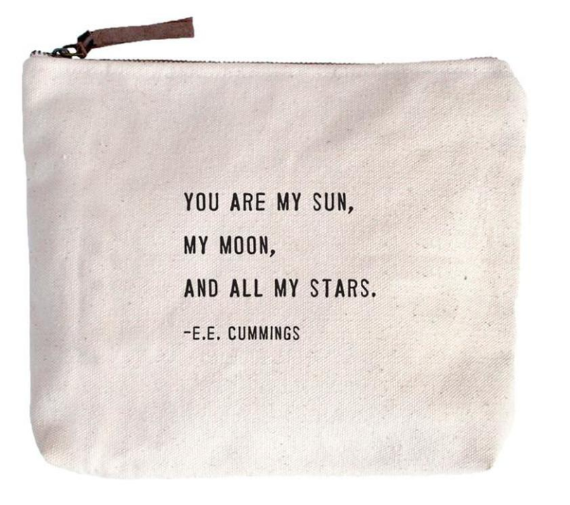 You Are My Sun Canvas Bag