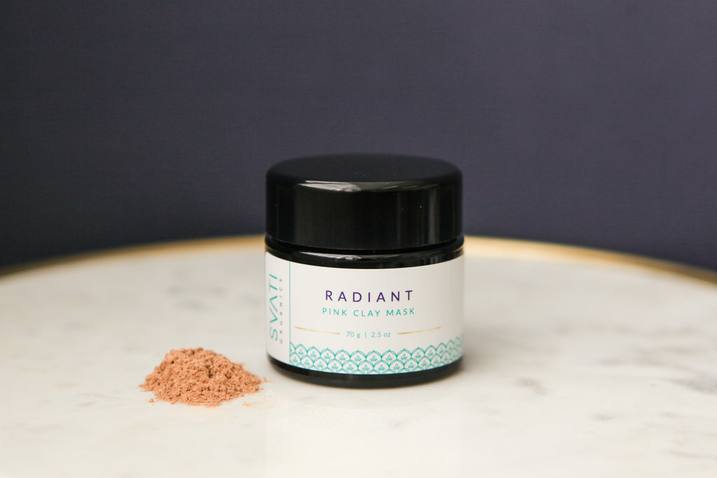 Radiant Pink Clay Mask