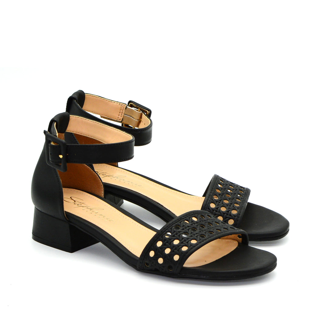 Suzanne Ankle Strap Mid-Heeled Sandals