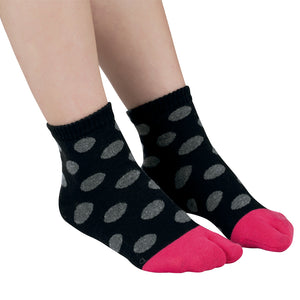 Casual Socks - Black & Pink