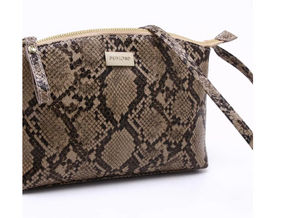 Dumond Mariana Crossbody Bag in Snake