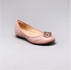 Capodarte Catherine Ballet Flat Shoes in Blush