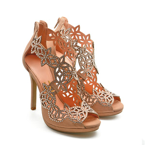 Cassiane Heel - Blush