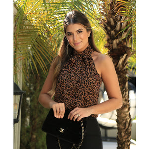 Bella Leopard Top