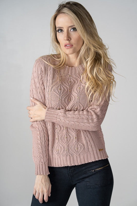 Lena Blush Knit