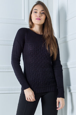 Gina Black Knit