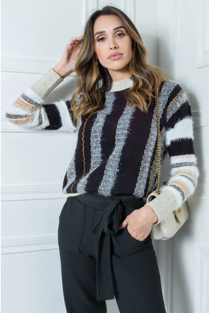 Jara Striped Knit