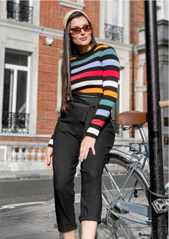 Lucia Stripes Knit