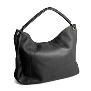 Capodarte Ivanna Tote Bag | Shoulder Bag in Soft Black Leather