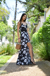 Jay Two-in-One Maxi Dress