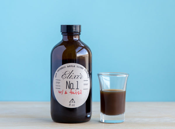 Switchel | Ginger + Molasses (formerly Elixir No1)
