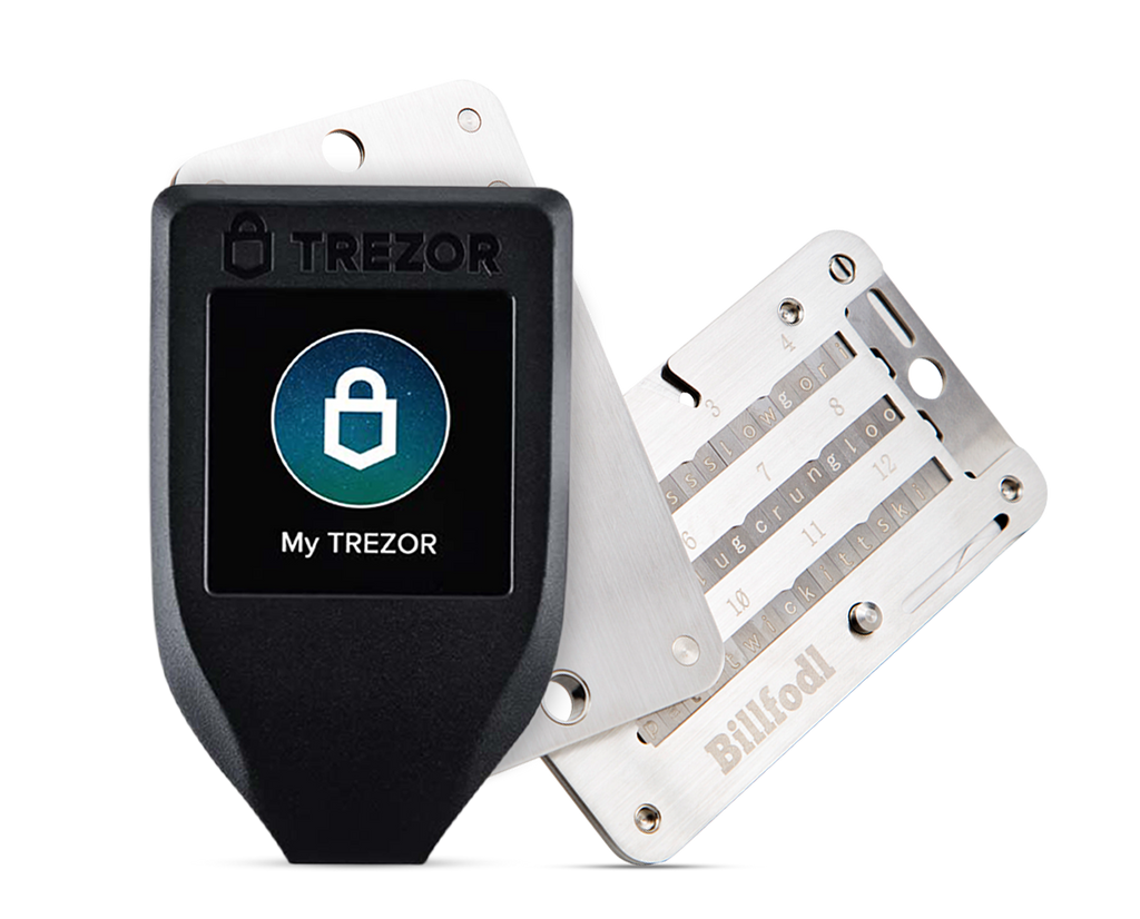 Trezor Model T + Billfodl Pack