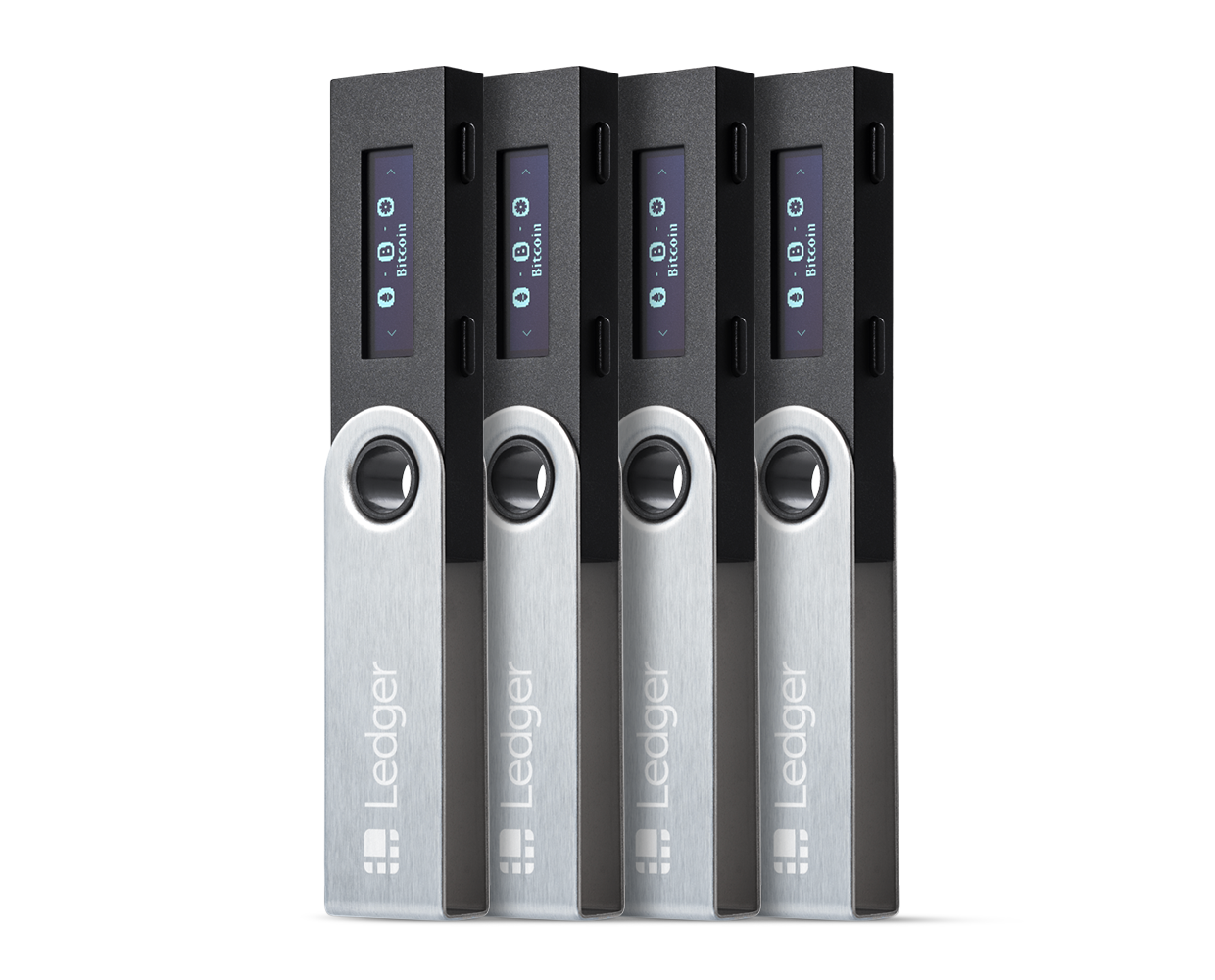 Ledger Nano S Family Pack of 4 Hardware Wallets