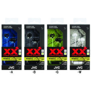 Jvc Xx Series Xtreme Xplosives Earbuds With Microphone (blue)