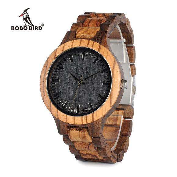 Wooden Quartz Watch