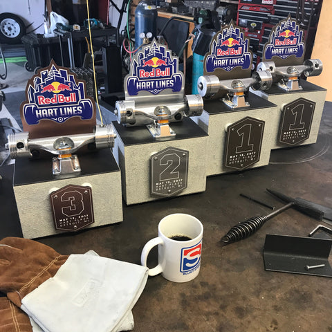 blunt steel trophy trophies red bull hart lines detroit