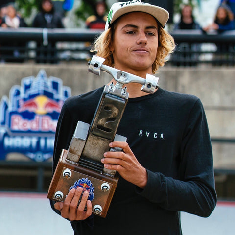 blunt steel red bull trophy trophies surfer kid