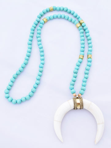 Blair - Turquoise and Ivory