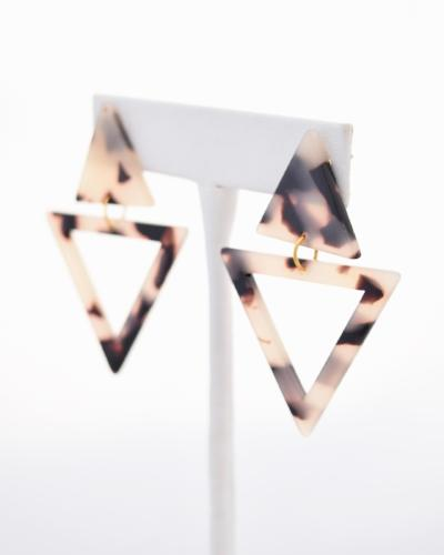 Cortney - resin earring