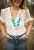 Suzanne Turquoise Statement Necklace