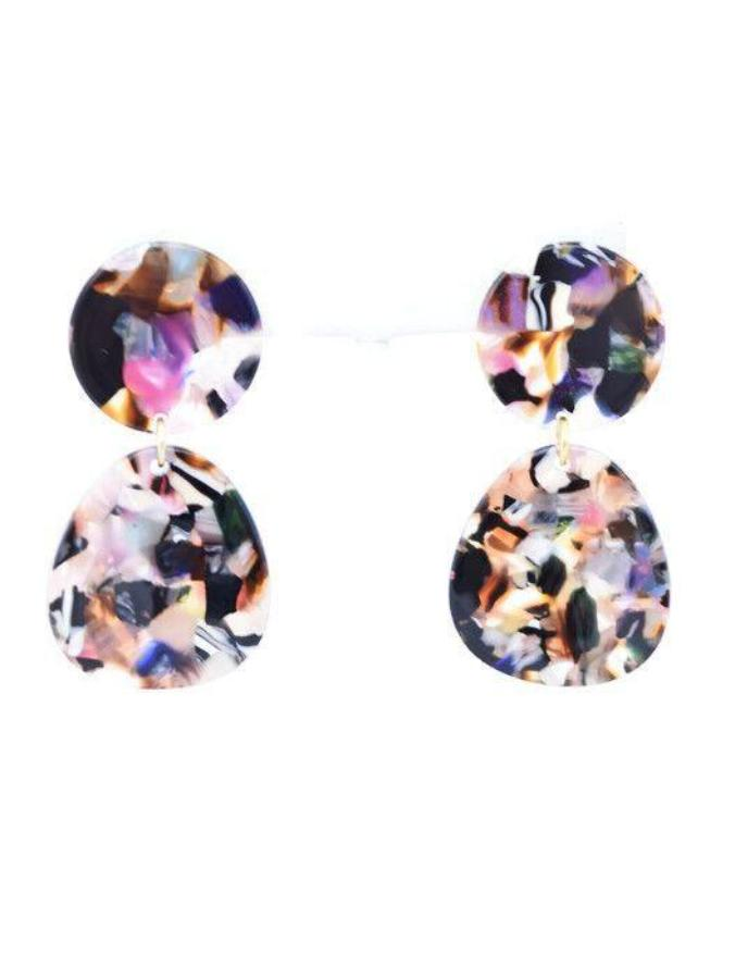 Kate - resin earring