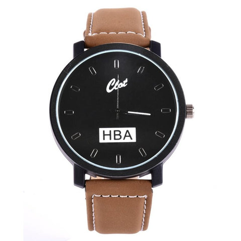 Clot x HBA Wrist Watch  [Black Coffee]
