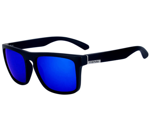 Viahda 'Just Glassin' Shades [Blue on Black]