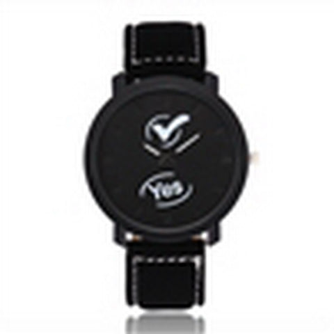 Clot x Yes Wrist Watch [Black on Black]
