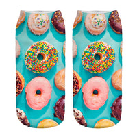 Colorful Donut Socks