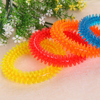 Multi color Rubber Chew Dog Toy