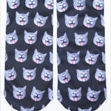 Scary cat Socks
