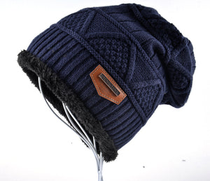 Men's Winter Knitted wool Beanies