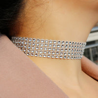 Choker Necklace American & European Style Bling