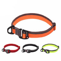 Adjustable Dog Collars For Big Small Dogs Soft Pet Collar For Dogs Outdoor Travel
