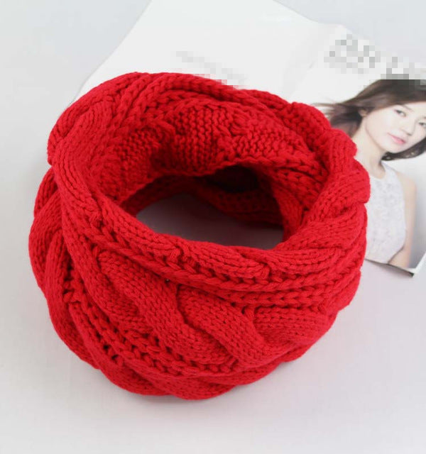 Luxury Brand Knitted Scarves Shawls For Women
