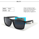 Polarized Men Sunglasses brand designer
