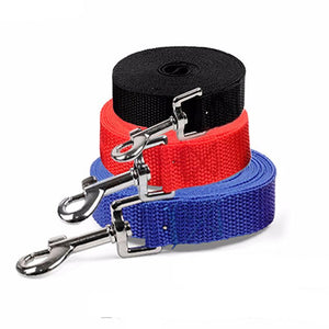 Long Nylon Dog Leash
