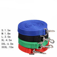 Nylon Dog Leash Selectable