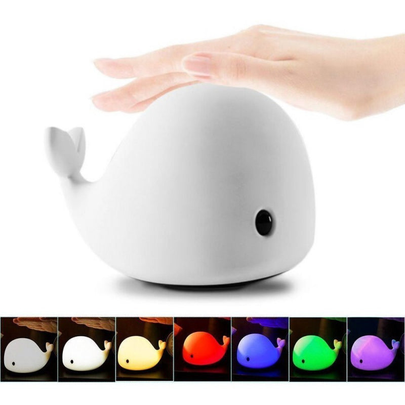 LED Touch Whale Light