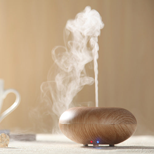 Wood Grain Ultrasonic Led light Aromatherapy Essential Oil Diffuser