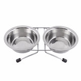 Stainless Steel Pet Travel Feeder