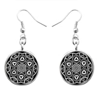 Pendant Earring Glass Dome