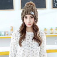 Brand 2017 Polyester Knitted Women's Hat
