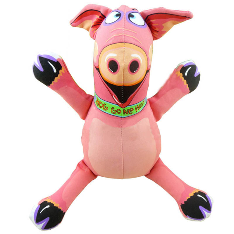 Canvas Piggy Dog Toy