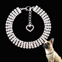 Cute Rhinestone Collar for Cats